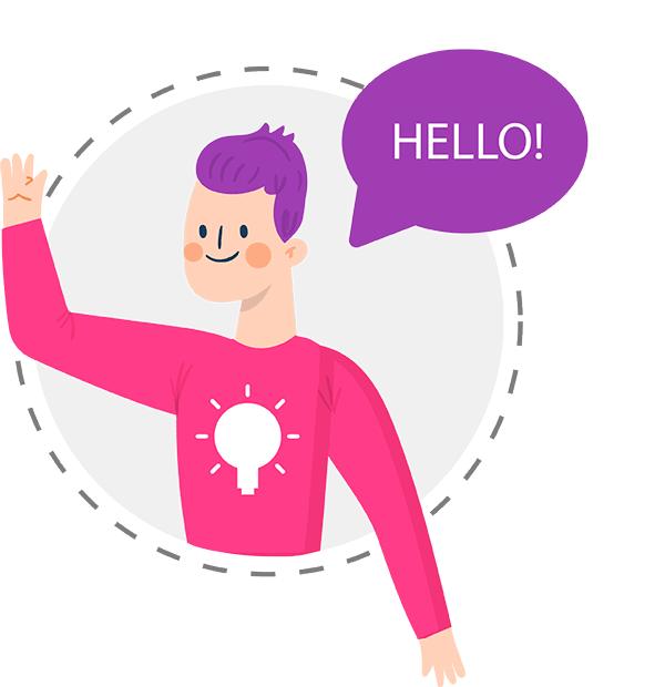 Hola contactanos